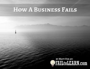 How A Business Fails Cover